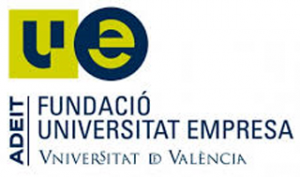 Logotipo Adeit fundación Universitat empresa